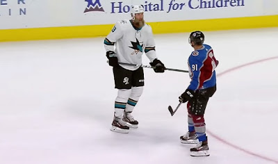 avalanche vs sharks thornton kadri