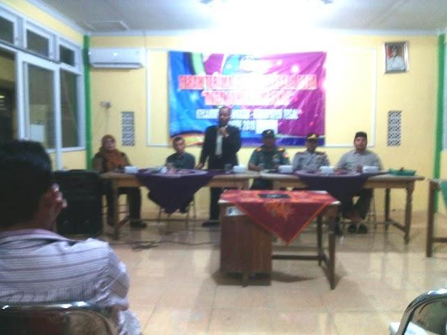 Danramil Pangkah hadiri Serah Terima Jabatan Kepala Desa Dukuhsembung