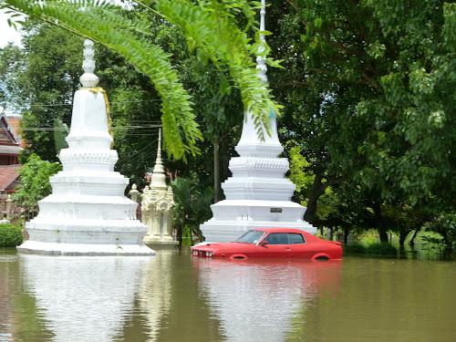 Hochwasser Thailand 2011