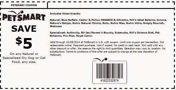 Petsmart Printable Coupons August 2015