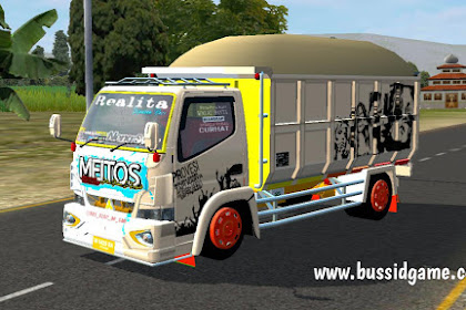 Mod Canter Dump Truck Meitos By RMC Creation