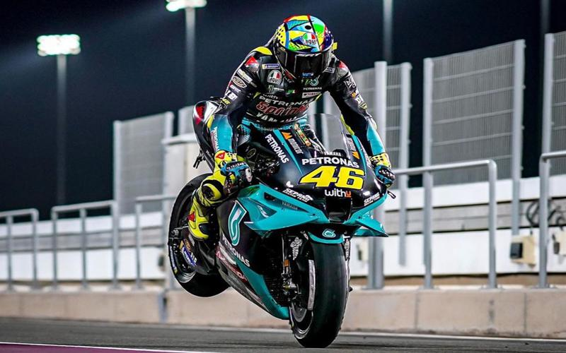 Valentino Rossi Petronas Yamaha