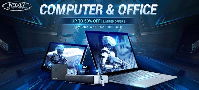 Promoção Computer Office na Gearbest