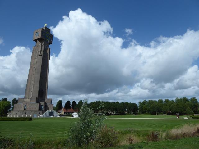 Detall de la Torre d'Ijzer