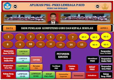 Aplikasi PK-Guru PK-Kepala Sekolah PAUD Versi 360 Terbaru