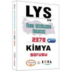 Yediiklim LYS den Önce Çözülmesi Gereken 2378 Kimya Sorusu (2016)