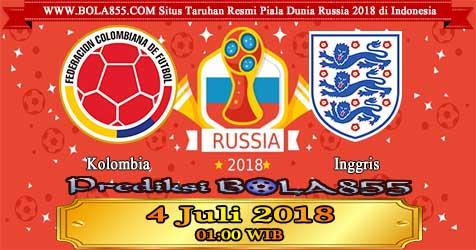 Prediksi Bola855 Colombia vs England 4 Juli 2018