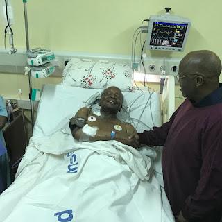 Breakig News : Rais Magufuli  Amtembelea Kingunge Hospitalini Kumulia Hali