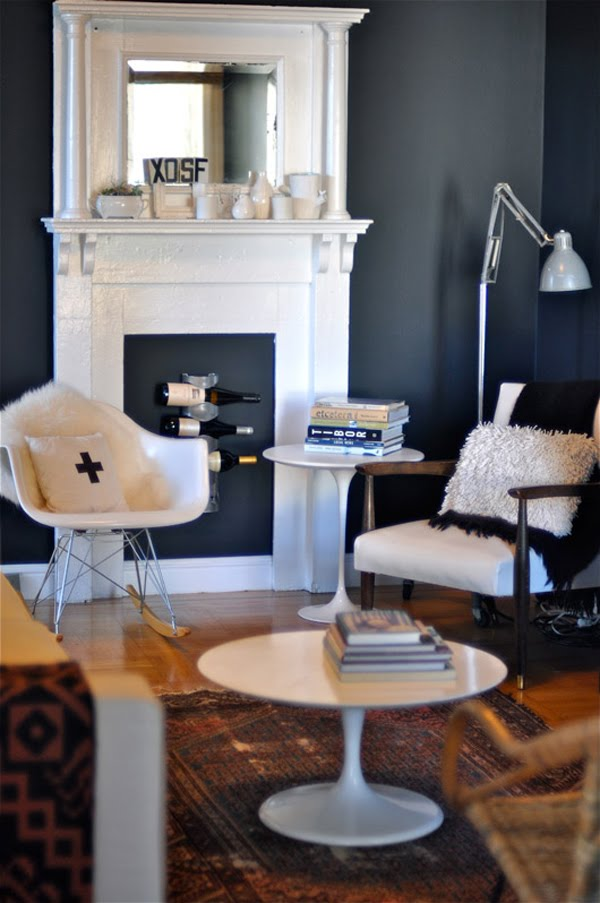 10 creative ideas to decorate your non working fireplace - Non working fireplace decor ...