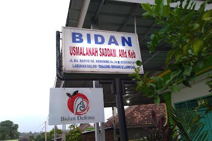 Klinik Bidan Usmalanah Saddam Bandar Lampung Terpercaya