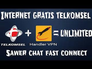 Trik Cara Internet Gratis Telkomsel Terbaru 2018
