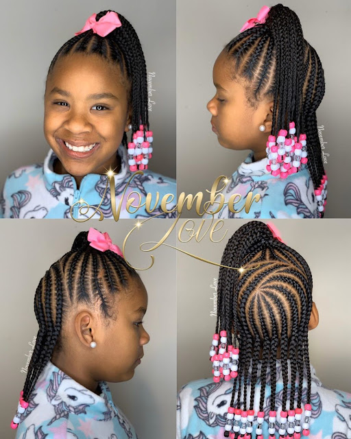 2020 Braided Hairstyles for Black Kids