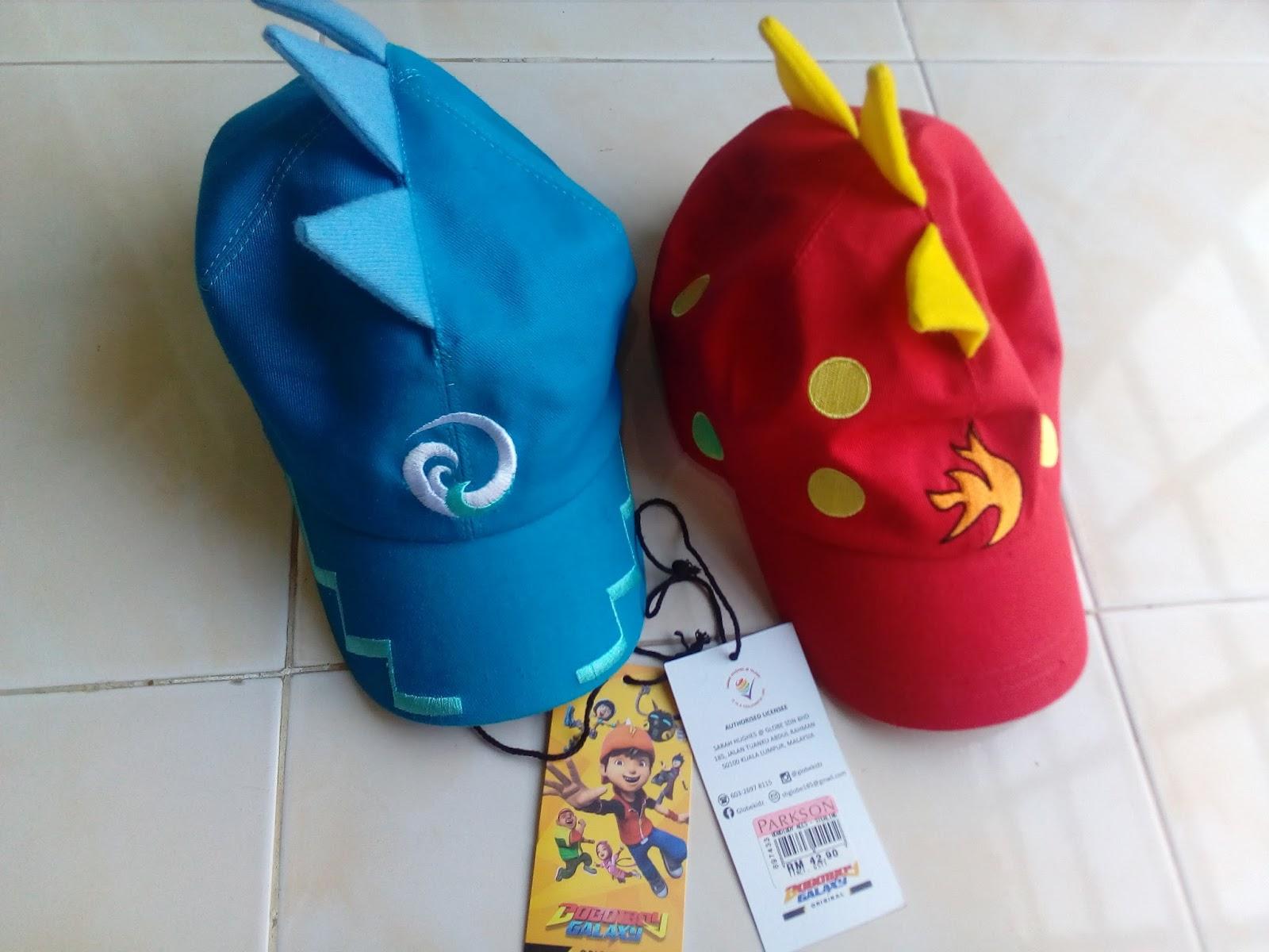 Hadiah Topi Boboiboy untuk The Arifs