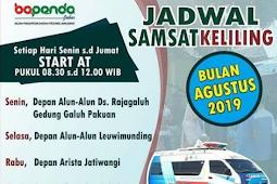 Jadwal Samsat Keliling Majalengka Agustus 2019