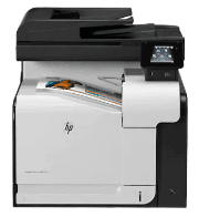 HP LaserJet Pro 500 color MFP M570dw Software and Driver