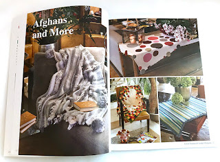 Afghans & More - Great Tunisian Crochet Projects - Book Review on CGOANow.com