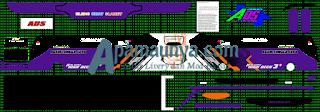 Livery Agam Tugga Jaya Ungu Ads JB3+ SHD