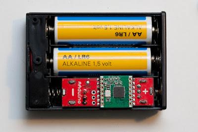 AAduino: el ordenador que cabe en una pila
