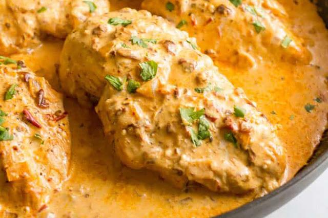receta de pechuga en salsa chipotle