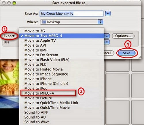 Transcode Apple InterMediate Codec MOV from iMovie to H 264 MP4 no
