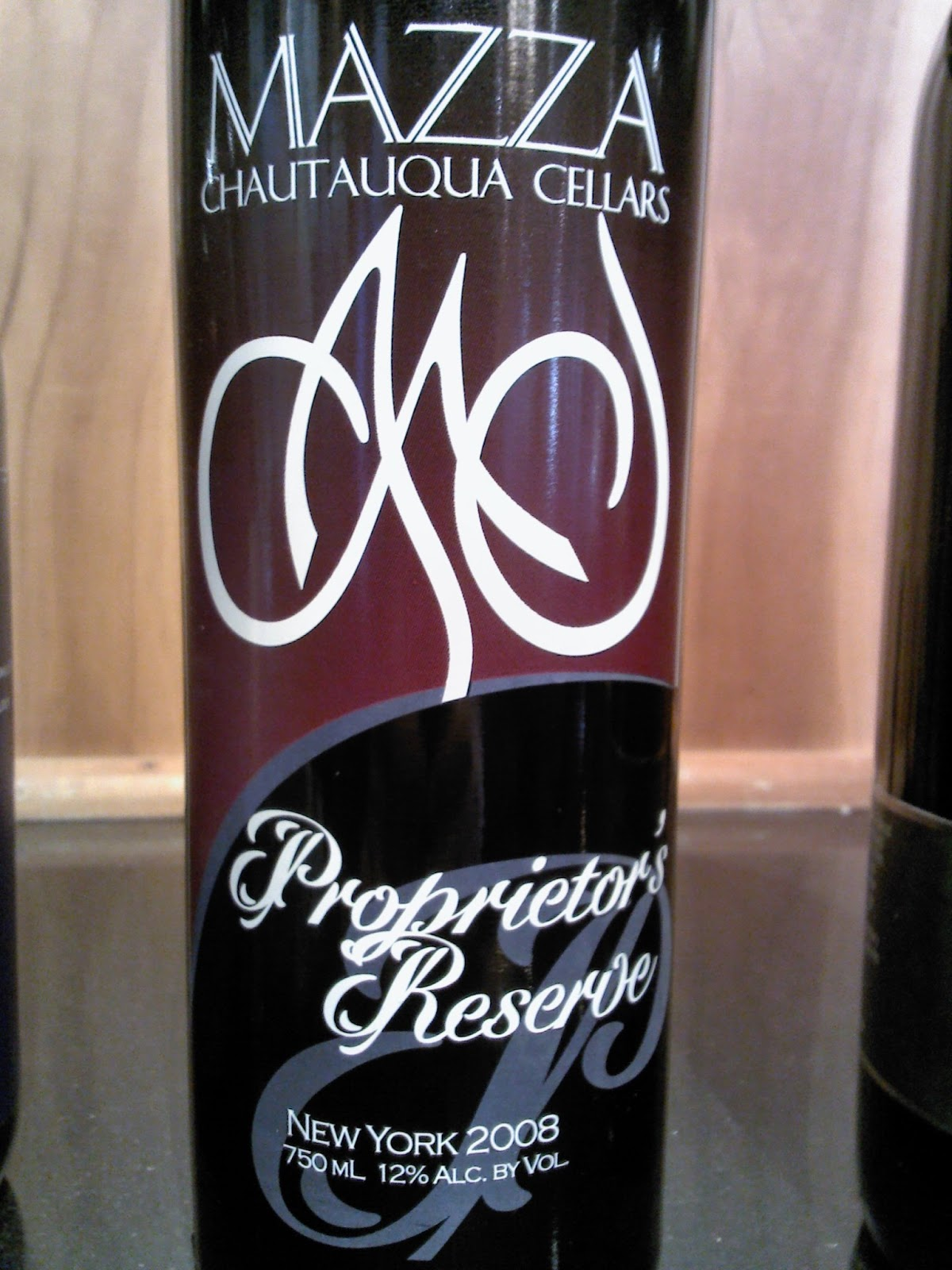 East Coast Wineries Mazza Chautauqua Proprietor S Reserve