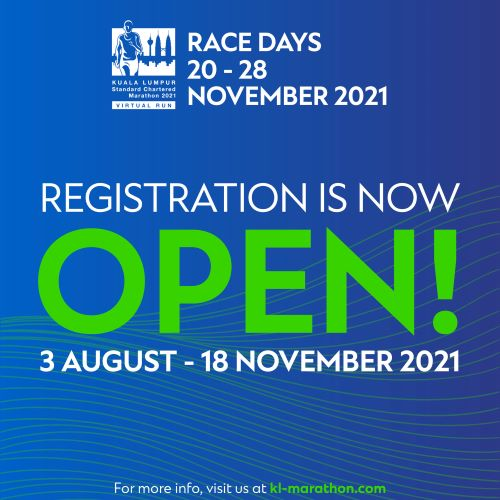 KLSCM 2021 Virtual Run Key Features, KLSCM 2021 Virtual Run, KLSCM 2021, Virtual Run, Kuala Lumpur Standard Chartered Marathon, Running, Fitness