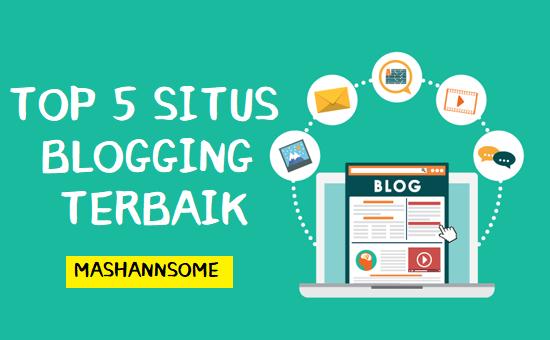 5 Situs blog terbaik gratis dan berbayar