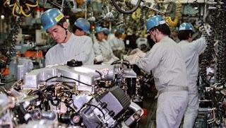 Συναρμολόγηση αυτοκινήτων της Mitsubishi στην Ιαπωνία