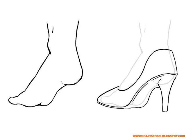 Chaussure à talon pour femme