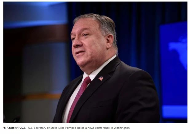 Pompeo will meet with Armenians, Azerbaijani ministers on the Nagorno-Karabakh conflict