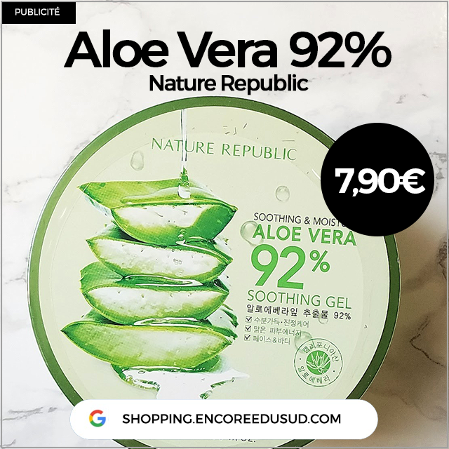 Gel Aloe Vera pas cher
