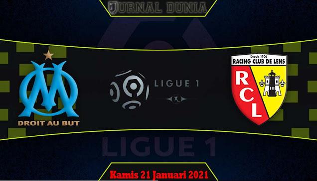 Prediksi Marseille vs Lens, Kamis 21 Januari 2021 Pukul 03.00 WIB