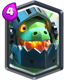 Clash Royale Infernal Dragon Card - Cards Wiki
