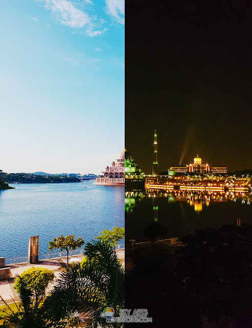 #DayAndNight: Putra Mosque, Putrajaya #withGalaxy #GalaxyS9