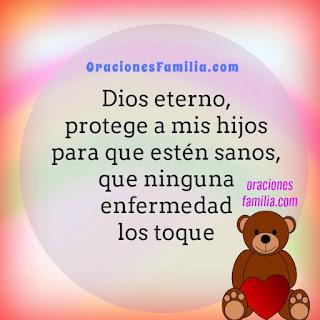 oracion de la noche proteccion de enfermedades a los hijos