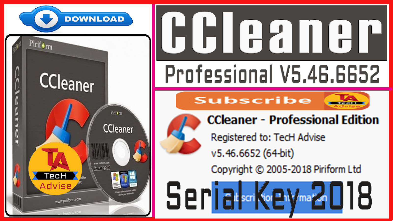 ccleaner professional serial key crack
