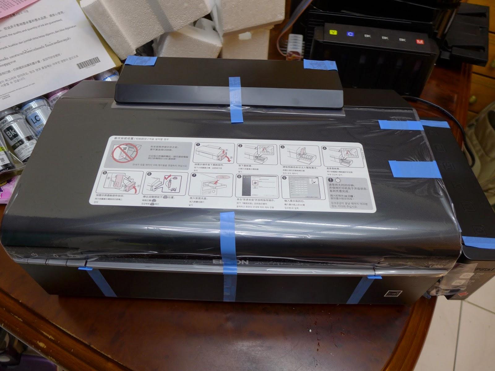 Process to reset the printer Epson L800 | en Rellenado