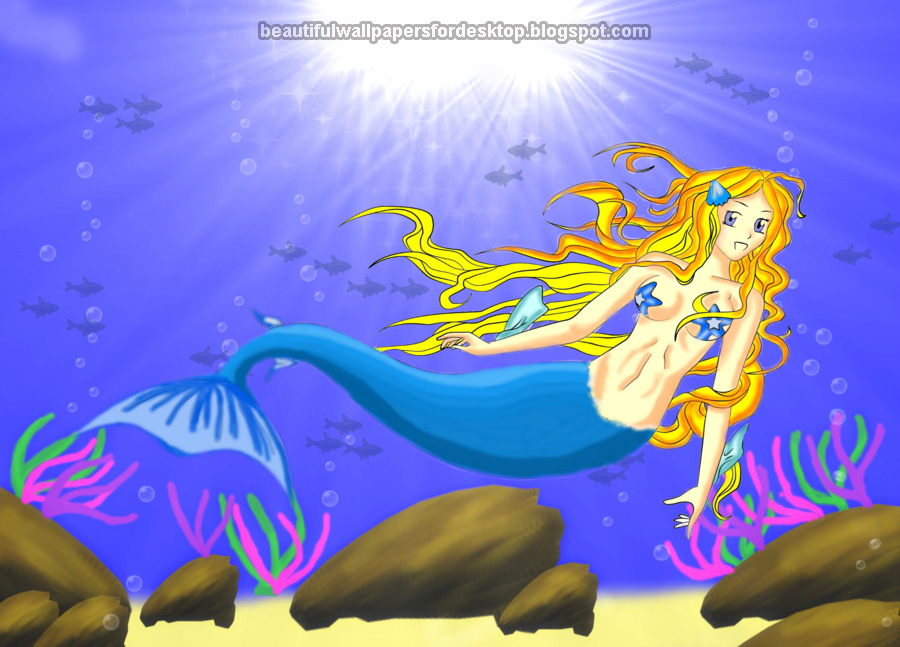 Labels Mermaids Wallpapers