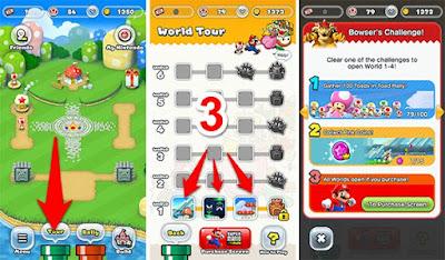 مسموح اللعب فقط ثلاث مراحل مجانا على لعبة Super Mario Run