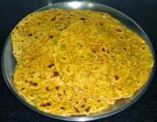 shallow fry the paratha