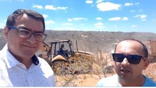 Prefeitura de Picuí recupera estradas na zona rural que há mais de 10 anos não recebiam melhorias