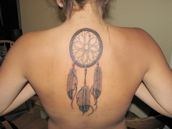 Dreamcatcher Tattoos For Women