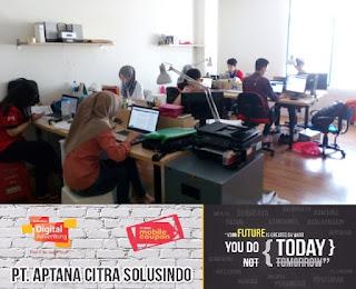 Lowongan Kerja di Sulawesi PT Aptana Citra Solusindo