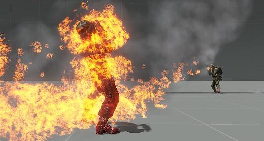 Arma3の火炎システムを拡張するBurn 'em MOD