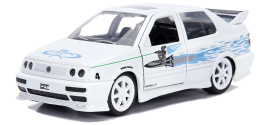 coleccion rapido y furioso, coleccion rapido y furioso jada tyos, coleccion rapido y furioso 1/32, 1995 Volkswagen Jetta 125