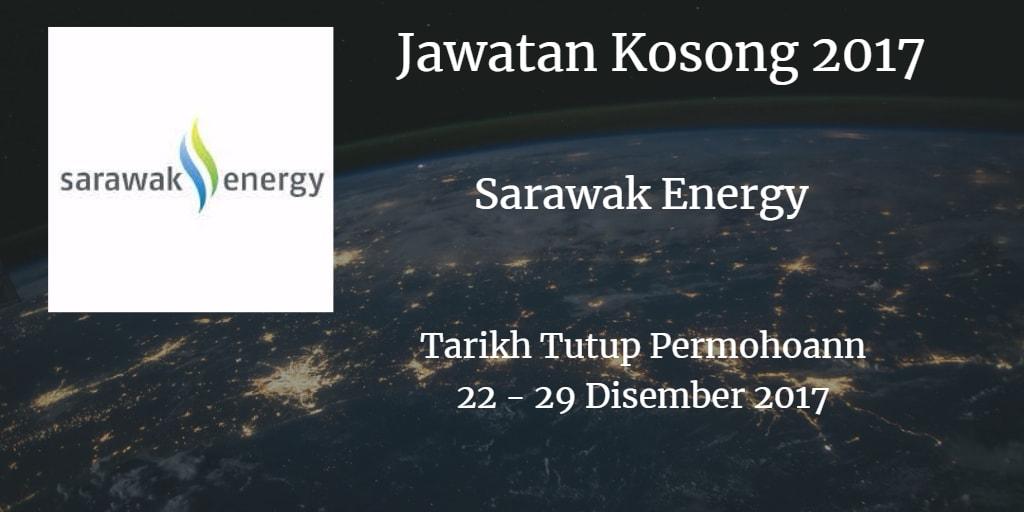 Jawatan Kosong Sarawak Energy 22 - 29 Disember 2017