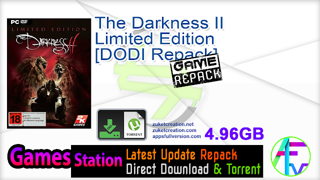 The Darkness II Limited Edition – [DODI Repack]