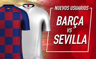 Sportium Bono liga: Apuesta 1€ y te damos 50€ Barcelona vs Sevilla 6-10-2019