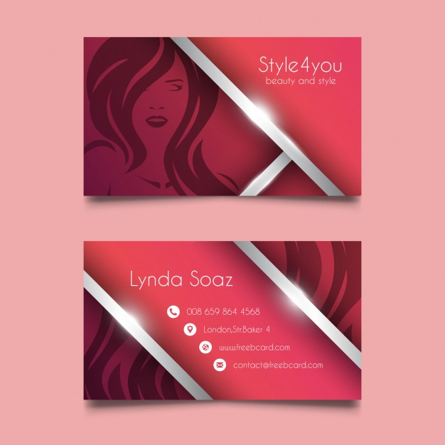 Corporate Beauty Card