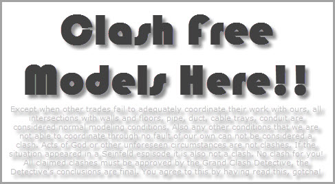 Revit OpEd: Our Model is Clash Free